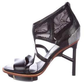 Y-3 Leather Cage Sandals w/ Tags
