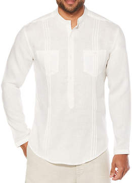 Cubavera Long Sleeve Pattern Button-Front Shirt