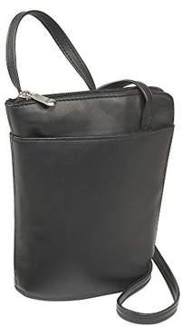 Le Donne LeDonne Women's Leather L-Zip Mini Handbag