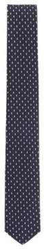 BOSS Hugo  Traveler Paisley-Dot Italian Silk Slim Tie One Size Black