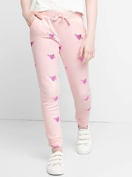 Gap Print Joggers in French Terry