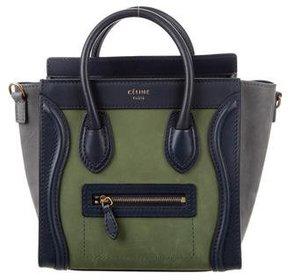 Céline Tricolor Nano Luggage Tote