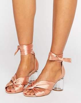 Asos HOLLOW Heeled Sandals