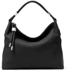 Michael Kors Skorpios Leather Hobo Bag - DARK TAUPE - STYLE