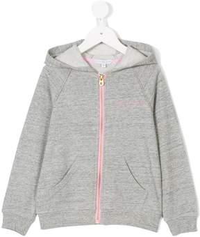 Little Marc Jacobs logo print hoodie
