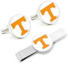 Ice University of Tennessee Volunteers Cufflinks and Tie Bar Gif