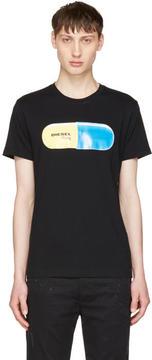 Diesel Black T-Diego-QH Pill T-Shirt