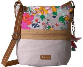 Sakroots Artist Circle Soft Bucket Handbags