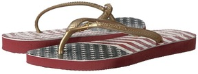 Havaianas Slim Chevron Stars and Stripes Sandals Girls Shoes