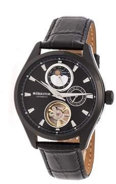 Heritor Sebastian Automatic Black Dial Men's Watch