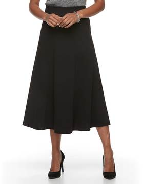 Dana Buchman Women's Seamed Midi Skirt