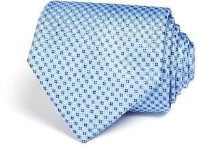 Bloomingdale's The Men's Store at Micro Grid Wide Tie - 100% Exclusive