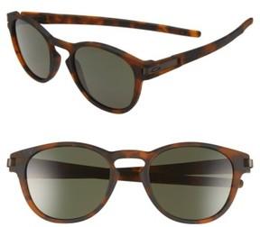 Oakley Men's 'Latch(TM)' 53Mm Retro Sunglasses - Brown