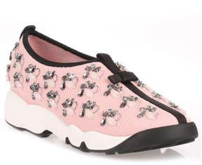 Christian Dior Fusion pink embellished sneaker