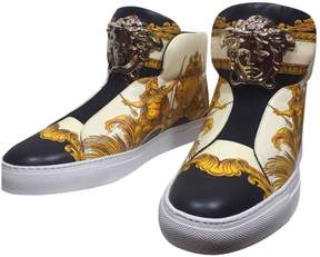 Versace Leather trainers