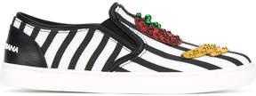 Dolce & Gabbana London slip-on sneakers