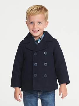 Old Navy Classic Wool-Blend Peacoat for Toddler Boys