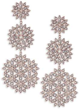 Adriana Orsini Women's Pavé Snowflake Drop Earrings