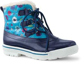 Lands' End Lands'end Girls Quilted Duck Boots