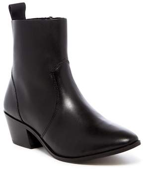 Report Iesha Faux Leather Ankle Boot