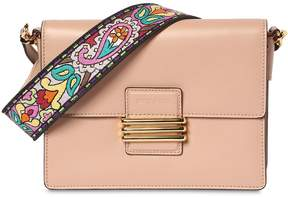Etro Rainbow Strap Leather Shoulder Bag