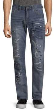 Affliction Gage Fleur Rosemund Rip Jeans