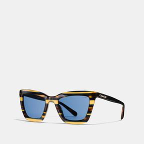Coach Varsity Rectangle Sunglasses