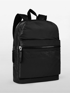 Calvin Klein Logo Nylon Backpack