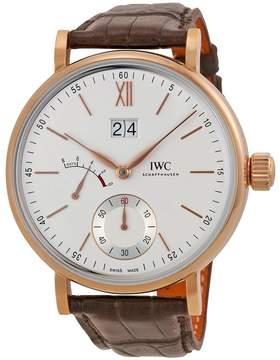 IWC Portofino Silver Dial 18kt Rose Gold Men's Watch