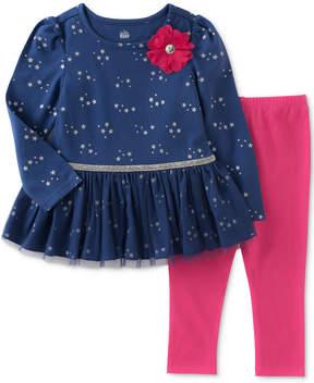 Kids Headquarters 2-Pc. Star-Print Tunic & Leggings Set, Little Girls (4-6X)