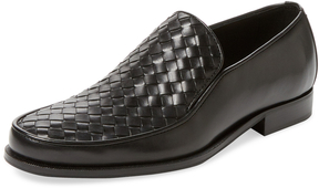 Bottega Veneta Men's Apron Leather Loafer