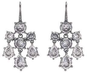 Bottega Veneta Cubic zirconia sterling silver earrings