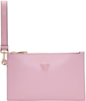Versace Pink Medusa Pouch Bag