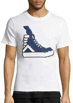 Mostly Heard Rarely Seen High-Top Sneaker Graphic Tee