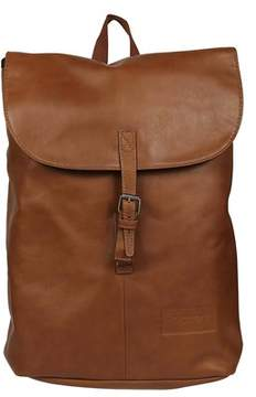 Eastpak Men's Brown Leather Backpack.