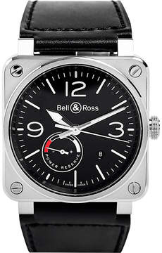Bell & Ross M0a10058 Clifton 18ct rose gold watch