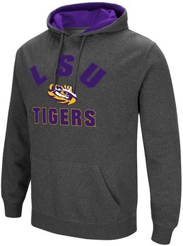 Colosseum Men's Campus Heritage LSU Tigers Pullover Hoodie