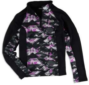 Fila Womens 1/4 Zip Fleece Jacket