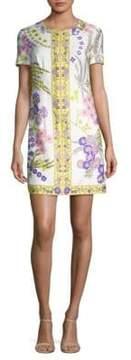Trina Turk Arboretum Floral-Printed Cotton Dress
