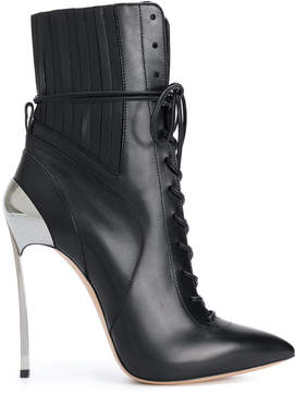 Casadei Techno Blade lace-up ankle boots