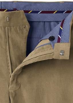 Lands' End Lands'end Men's Traditional Fit Plain Front 18-wale Corduroy Trousers