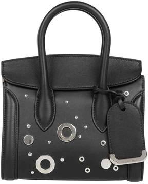 Alexander McQueen Black Leather Handbag