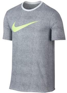 Nike Mens Pebble Dri-fit Graphic T-Shirt Grey L