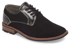 Steve Madden Boy's Fold Plain Toe Derby