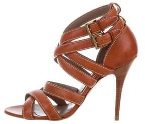 Etro Leather Multistrap Sandals