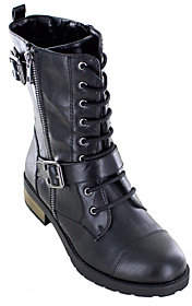 White Mountain Heritage Collection Lace-up Combat Boots - Fid