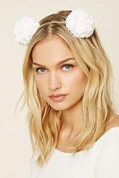 Forever 21 Rose Embellished Headband
