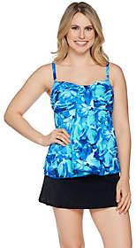 Fit 4 U Sonic Tulips Waterfall Skirtini Swimsuit