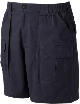 Croft & Barrow Men's Classic-Fit Twill Elastic Cargo Stretch Shorts