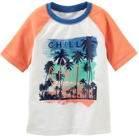 Osh Kosh Oshkosh Bgosh Boys 4-8 Chill Beach Rash Guard